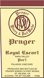 2009 Royal Escort Vintage Port (750ml)