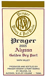 2005 Alyssa Golden Dry Port (750ml)